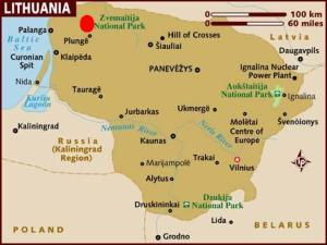 map_of_lithuania